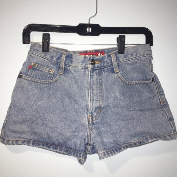 Vintage Pants - VINTAGE high waisted jean shorts